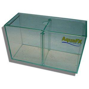Glass Aquarium Bettas With Lid & Divider.