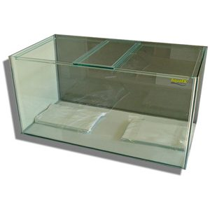 Glass Aquarium   36x15x18  With Lids