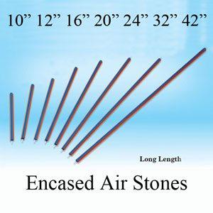 """Pvc Encased Air Stone 12"""""""