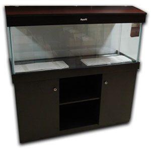 Aquafx 4ft Cabinet & Hood Black 24x12
