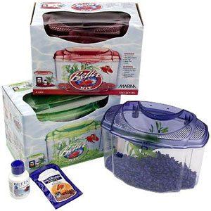 Living World Betta Kit  Purple