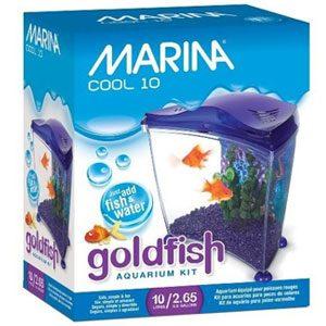 Marina Goldfish Kit  Cool Purple 10L