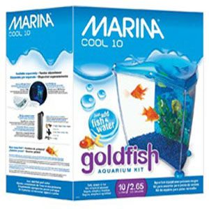 Marina Goldfish Kit  Cool Blue 10L