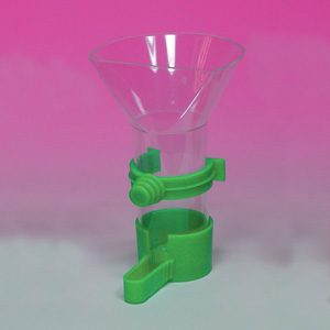 Funnel Feeder W/plastic Clip Large