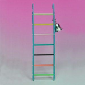 7 step Ladder 215mm W/bell
