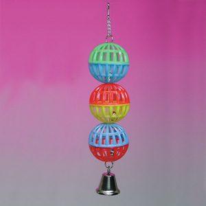 3 jingle Lattice Ball W/bell