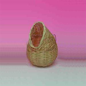 Finch Nest Hooded (rattan) 12cm