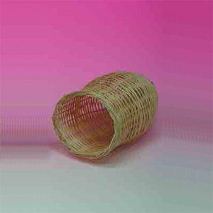 Finch Nest Tube Shape (rattan) 13cm