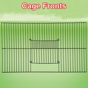"""Cage Front Black 24""""x18"""" 10mm Bar Space"""