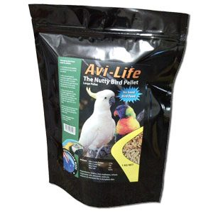 Avi Life Nutty Bird Pellets (large) 1kg
