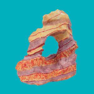 Rainbow Rock (118x76x129mm)