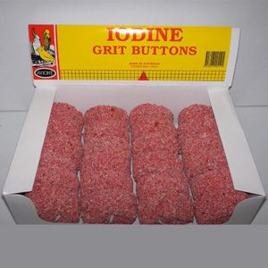 Iodine Grit Boxed Buttons (24 X 55g)