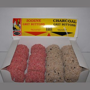 1/2 Iodine/charcoal Boxed Buttons (24 X 55g)