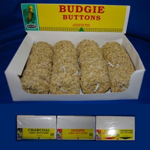 Budgie Boxed Buttons (24 X 55g)