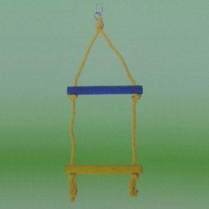 Bird Rope/wooden Ladder 2 rung