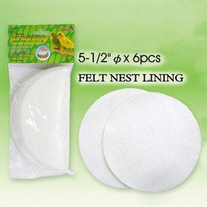 Felt Nest Lining 6pc