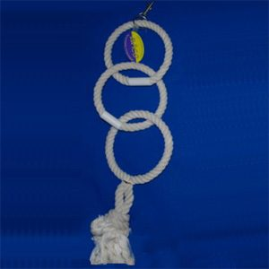 Bird Rope Triswing 16mm X 15cm Dia. Each Ring