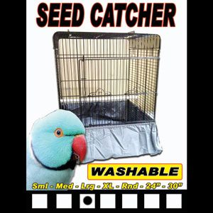 Seed Catcher For Bird Cages Large 27cm X 29cm