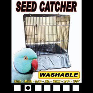 Seed Catcher For Bird Cages Medium 21cm X 28cm