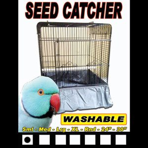 Seed Catcher For Bird Cages Small 19cm X 25cm