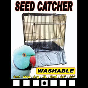 Seed Catcher For Bird Cages X/large 31cm X 35cm
