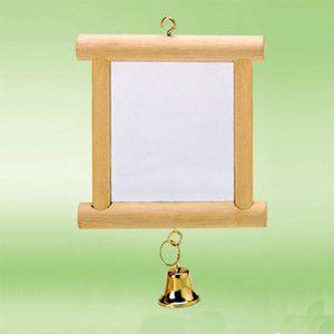 Wooden Framed Mirror (Coloured)