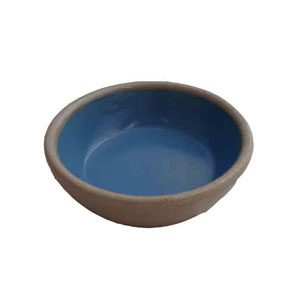 "Stoneware Bowl 5"" (4cmh) (shallower)"