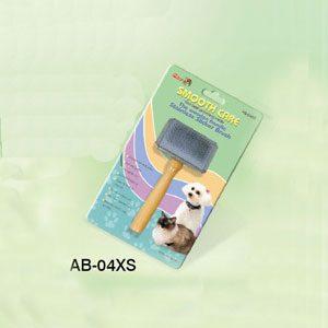 Slicker Brush Wooden Handle S/S Back (XS)