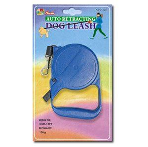 Retractable Dog Leash 16 Ft. (M)