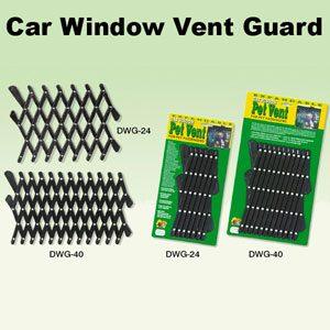 "40"" Car Window Vent Guard (plastic)"