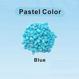 Pastel Coloured Gravel 3.5mm 1kg Blue