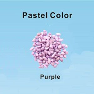 Pastel Coloured Gravel 3.5mm 1kg Lilac