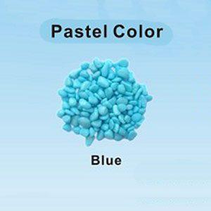 Pastel Coloured Gravel 12.15mm 1kg Blue