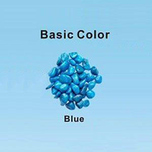Pastel Coloured Gravel 12.15mm 1kg Dark Blue