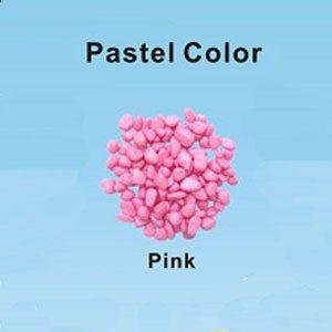 Pastel Coloured Gravel 12.15mm 1kg Pink