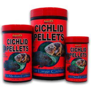 AquaFX Cichlid Pellets  Large Pellet W/colour 480g