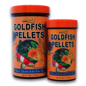 AquaFX Goldfish & Koi Pellets  Small Pellet 90g