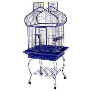 Parrot Cage, Temple Shape Open Top 75 X 55 X 168cm