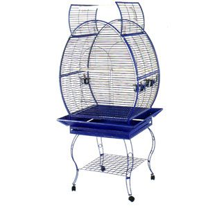 Parrot Cage, Egg Shape Open Top 80 X 55 X 172cm