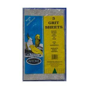 "Grit Sheets 16""x9"" Pkt3"
