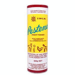 Pestene 500g (powdered Kills Fleas Lice & Mites)