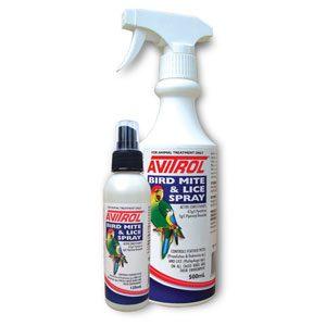 Avitrol Bird Mite & Lice Spray 125ml