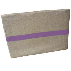 Replacement Hessian Bag (Purple Stripe)