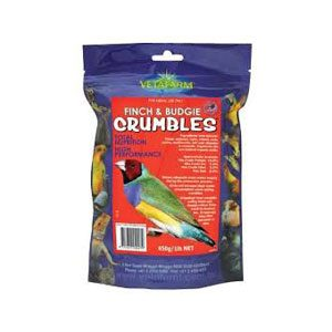 Finch Crumbles 450g