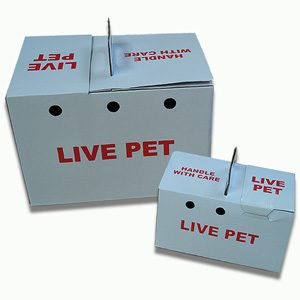 Cardboard Pet Carry Box Small
