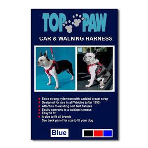 Top Paw Car Harness (M)