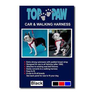 Top Paw Car Harness (XL)
