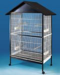 Parrot Cage On Castors, Suits Small Birds