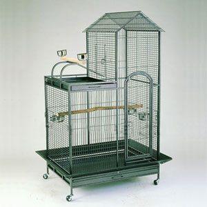 Parrot Cage L Shape With play Pen 93 X 69 X 160cm