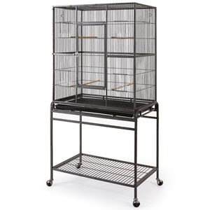 Heavy Duty Flight Cage 81 X 54 X 157cmh Icl.stand.